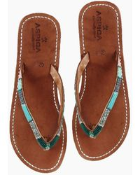 Aspiga Naisha Sandals - Emerald
