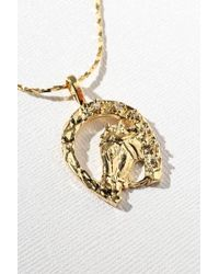 Vanessa Mooney - Horse Shoe Necklace - Gold - Lyst