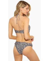 Rosa Cha - Carla Cheeky Bikini Bottom - Serpent Print - Lyst