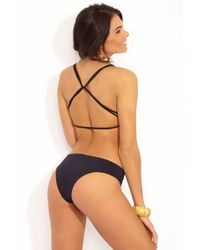 L*Space - Pixie Hipster Bottom - Black - Lyst
