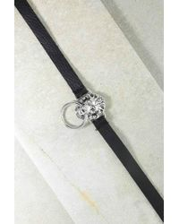 Vanessa Mooney - The Silver Black Vandal Belt - Black - Lyst