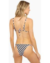 Rosa Cha - Sofi Side Strap Bikini Bottom - Geometric - Lyst