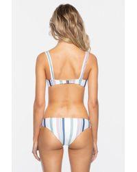 Tavik - Ali Moderate Bikini Bottom - Meadow Green Stripe - Lyst