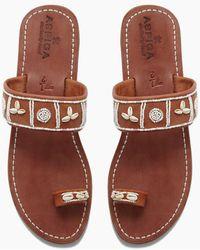 Aspiga - Shella Sandals - White - Lyst