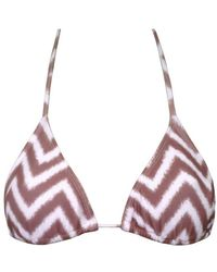 Meli Beach - Classic Triangle Top - Lyst