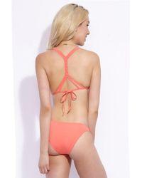 KACEY SHANA - Montauk Bottom - Coral - Lyst