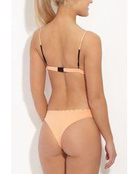 Indah - Mandy Studded Bottom - Light Peach - Lyst
