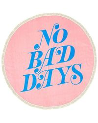 Ban.do - No Bad Days All Around Giant Circle Towel - Lyst
