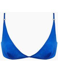 a43264bdcb214 Vitamin A Serra Bikini Top - Royal Blue in Blue - Lyst