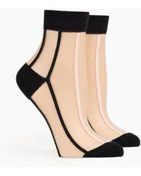Richer Poorer - Tasha Ankle Socks - Black - Lyst