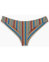 RVCA - Sixteenth St Cheeky Bikini Bottom - Multi - Lyst