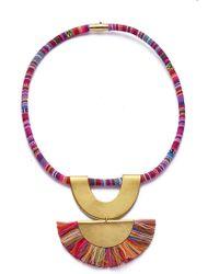 Sandy Hyun - Rainbow Necklace - Lyst