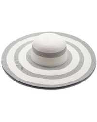Pia Rossini | Eleni Metallic Stripe Hat | Lyst
