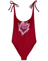 Wildfox | Andi One Piece - Burgundy | Lyst