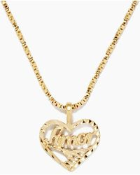 Vanessa Mooney - The Amor Necklace - Gold - Lyst