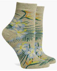 Richer Poorer - Havana Ankle Socks - Oatmeal - Lyst