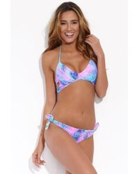 Luli Fama - Reversible Laura Bikini Top - Palmares - Lyst