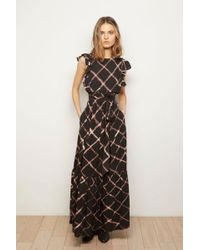 The Odells - Ruffle Maxi Dress - Diamond Tie Dye - Lyst