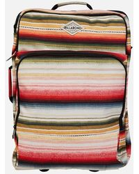 Billabong - Keep It Rollin Carry On Roller Bag - Lyst