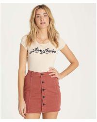 Billabong - Nights Like This Skirt - Lyst