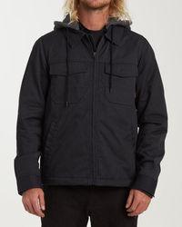 Billabong Barlow Twill Jacket - Black