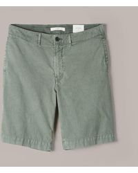 Billy Reid - Clyde Cotton Shorts (fern) Men's Shorts - Lyst
