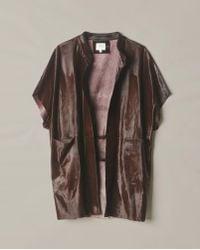 Billy Reid - Calf Hair Coat - Lyst