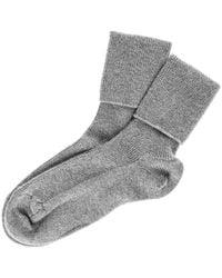 Black.co.uk | Ladies' Grey Cashmere Socks | Lyst