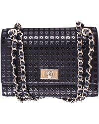 Black.co.uk - Black Lacquer Deerskin Shoulder Bag - Lyst