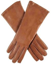 Black.co.uk - Ladies Cashmere Lined Tan Leather Gloves - Lyst