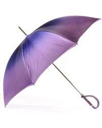 Black.co.uk | Violet To Wisteria Luxury Double Canopy Umbrella | Lyst