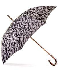 Black.co.uk Grey Camouflage Luxury Umbrella