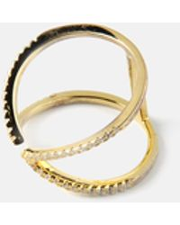 we11made | Kissing Open Ring | Lyst