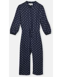 Birds Of Paradis - The Ingrid Jumpsuit_navy - Lyst
