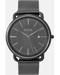 Breda - Gunmetal Linx Watch - Lyst