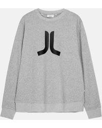Wesc | Icon Sweatshirt_grey Melange | Lyst
