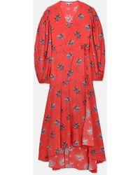 4615e79c Ganni Kochhar Mini Dress in Red - Lyst