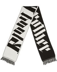 Blood Brother - Dark Thames Scarf In Black & White - Lyst