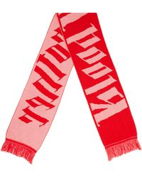Blood Brother - Dark Thames Scarf In Pink & Red - Lyst