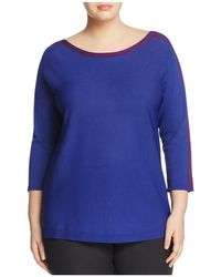 Marina Rinaldi - Aula Color-block Sweater - Lyst