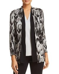 Misook - Layered Open-front Jacket - Lyst