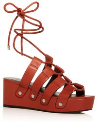 Rebecca Minkoff - Iven Strappy Sandals - Lyst