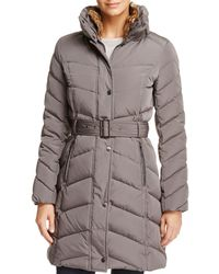 Cole Haan - Stand Collar Puffer Coat - Lyst