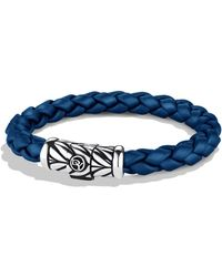 David Yurman - Chevron Bracelet In Blue - Lyst
