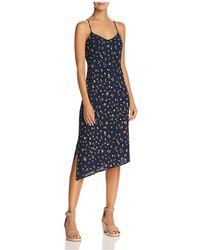 AG Jeans - Scarlett Floral Slip Dress - Lyst