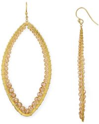 Chan Luu - Marquise Earrings - Lyst