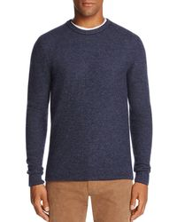 Bloomingdale's - Wool & Cashmere Honeycomb Sweater - Lyst