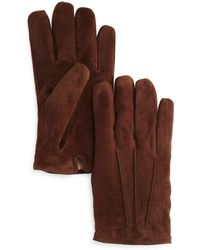 Bloomingdale's - Three-cord Suede Gloves - Lyst