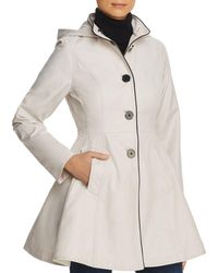 Laundry by Shelli Segal - Fit - And - Flare Contrast Stitched Anorak - Lyst