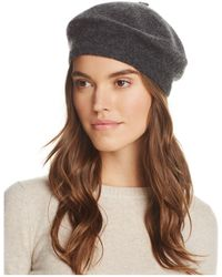 C By Bloomingdale's - Angelina Cashmere Beret - Lyst